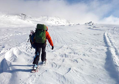 snowshoeing thredbo
